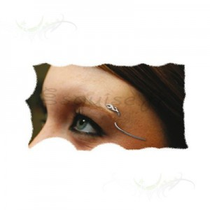 Piercing Arcade horizontal - Achat de piercings, percing