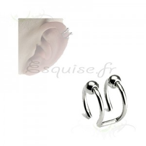 Piercing oreille mirage