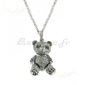 Collier fantaisie nounours