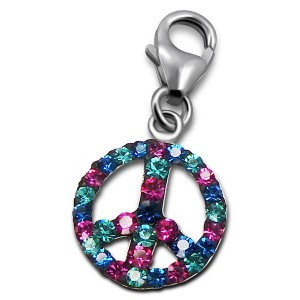 Peace and love pendentif