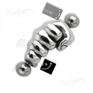 Piercing arcade main acier chirugical fixation broche