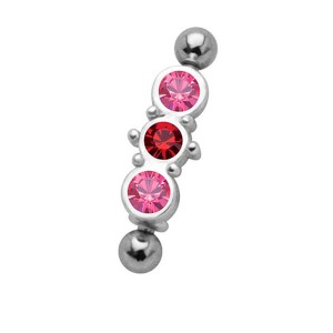 Piercing arcade diamant solitaire brillant