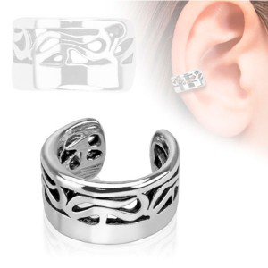 Faux piercing cartilage tribal