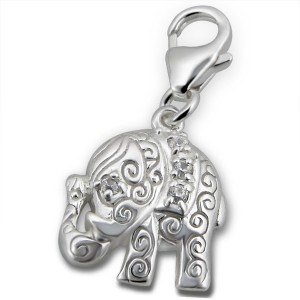 Sublime elephant charms bracelet
