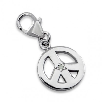 Charms forme de peace and love
